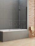 NEW TRENDY - Parawan nawannowy NEW SOLEO BLACK 100-120 cm