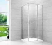 REA - Kabina prostokątna Atrium Square 80x100 pojedyńcze drzwi uchylne