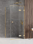 NEW TRENDY Kabina prysznicowa AVEXA GOLD SHINE Linia Platinium 80x100x200