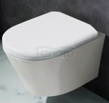 REA - Miska wisząca WC ceramiczna bezrantowa TITO rimless
