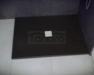 BESCO - Brodzik prysznicowy NOX BLACK ULTRASLIM  130X90X3