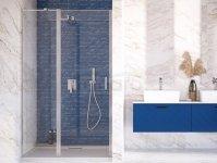 BESCO Drzwi wnękowe prysznicowe uchylne EXO-C 100cm EC-100-190C