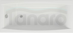 CERSANIT - Wanna prostokątna VIRGO 180 x 80 cm S301-103