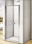 WANA - Drzwi prysznicowe wahadłowe MELOS Easy Clean