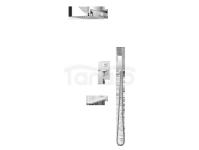 VEDO - Zestaw natryskowy podtynkowy z wylewką wannową I MITO VBM3231 250x250