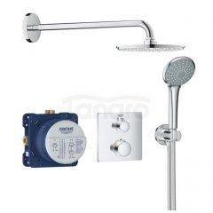 GROHE Zestaw natryskowy prysznicowy podtynkowy z baterią termostatyczną 34734000 BS