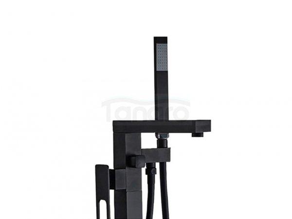 VELDMAN - Bateria wannowa wolnostojąca czarna TREVI
