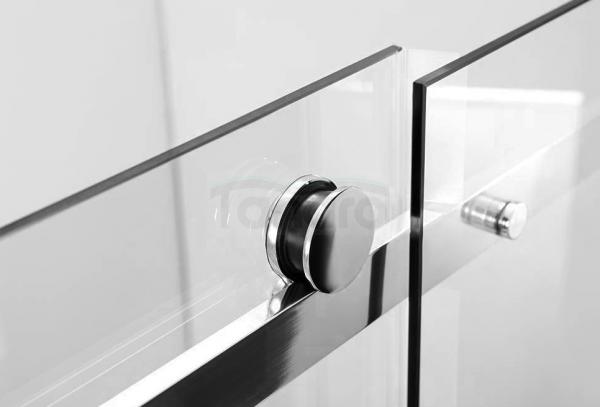 REA - Kabina prysznicowa MARTEN prostokątna z drzwiami przesuwnymi