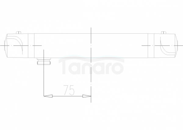 ARMATURA KRAKÓW - Classic bateria natryskowa termostatyczna 576-010-00
