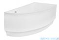 Besco Praktika 150x70cm wanna asymetryczna prawa + obudowa + syfon