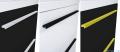 Elita Kwadro Plus słupek wiszący 30x150x23cm black 167654