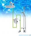 Omnires Y zestaw podtynkowy prysznicowy chrom SYSY17CR