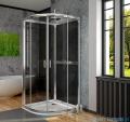 Radaway Premium Plus 2S Komplet ścianek tylnych 80x80 szkło przejrzyste