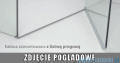 Radaway Essenza New Kdj+S kabina 100x80x100cm prawa szkło przejrzyste 385021-01-01R/384052-01-01/384052-01-01