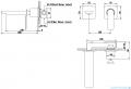 Kohlman Experience black bateria podtynkowa umywalkowa czarny mat QW180EB