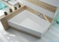 Sanplast Free Line WTL/FREE wanna trapezowata 135x175 cm lewa 610-040-1320-01-000