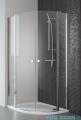 Radaway Eos II PDD kabina prysznicowa 90x90 szkło przejrzyste + brodzik Delos A + syfon