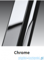 Novellini Drzwi do wnęki uchylne GIADA 1B 78 cm lewe szkło przejrzyste profil chrom GIADN1B78S-1K