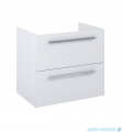 Elita Kwadro Plus komoda 60x53x40cm biały połysk 166715