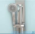 Novellini Glax 3 kabina prysznicowa masażowo-parowa 80x80 srebrny GL3A89T1N-1B
