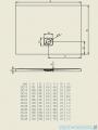 Riho Brodzik prostokątny Basel 420 160x90x4,5cm DC30