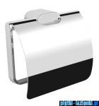 Omnires Michigan uchwyt na papier toaletowy z klapką chrom MI20520CR