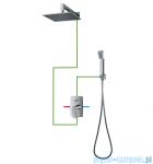 Omnires Murray zestaw podtynkowy prysznicowy chrom SYSMU20CR