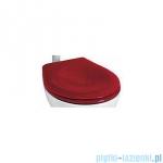 Koło Nova Top Junior Deska sedesowa z tworzywa Duroplast czerwona 60119000