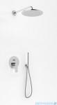 Kohlman Proxima zestaw prysznicowy z deszczownicą 20cm chrom QW210PR20