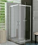 SanSwiss Top-Line TOPAC Wejście narożne 90cm profil srebrny Prawe TOPD09000107