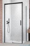 Radaway Idea Black Kdj drzwi 100cm lewe szkło przejrzyste 387040-54-01L