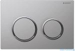 Geberit Omega20 przycisk spłukujący chrom matowy/chrom błyszczący/chrom matowy 115.085.KN.1