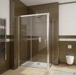 Radaway Premium Plus DWJ+S kabina prysznicowa 120x80cm szkło brązowe 33313-01-08N/33413-01-08N