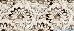 Ceramika Color Scala cream Flower 2 dekor ścienny 25x60