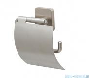 Tiger Onu Uchwyt na papier toaletowy z klapką stal szczotkowana 13191.3.09.46