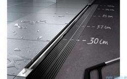 Viega Advantix Vario kompletny odpływ liniowy niski z rusztem o regulowanej długości 30-120cm chrom 721671+686291