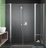 Radaway Eos II Dwd drzwi prysznicowe 140x195 W2 szkło przejrzyste 3799730-01-01/3799670-01-01