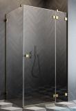 Radaway Essenza Pro Gold Kdj kabina 80x75cm prawa przejrzyste 10097080-09-01R/10098075-01-01