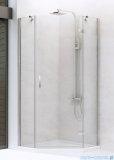 New Trendy New Azura kabina pięciokątna 90x90x195cm przejrzyste prawa+brodzik K-0338/B-0365/S-0023