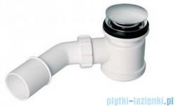 McAlpine Syfon brodzikowy 50'' pokrywa kolorze chrom HC26CLCP