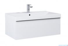 Elita Look szafka z umywalką 80x28x45cm biały połysk 167079/145840