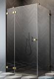 Radaway Essenza Pro Gold Kdj kabina 80x80cm lewa przejrzyste 10097080-09-01L/10098080-01-01