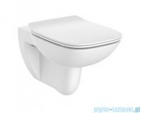 Roca Debba Square Rimless miska WC podwieszana z deską Slim A34H993000