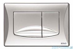 Koło Slim2 przycisk spłukujący do WC chrom mat 94184-003