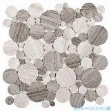 Dunin Woodstone mozaika kamienna 30x30 grey dot
