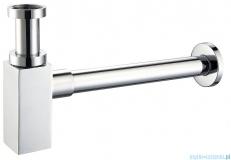 Alterna Iris półsyfon umywalkowy dekoracyjny kwadratowy chrom ALTN-914635