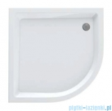 Schedpol Eko 2.0 brodzik akrylowy 90x90x16cm R55 półokrągły biały 3.323