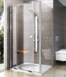 Ravak Pivot PPS ścianka prysznicowa 100cm satyna transparent Anticalc 90GA0U00Z1
