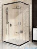 Ravak Blix BLRV2K drzwi prysznicowe 1/2 80cm aluminium transparent Anticalc 1XV40C00Z1