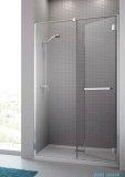 Radaway Carena DWJ Drzwi prysznicowe 120 prawe szkło brązowe + brodzik Doros D 34332-01-08NR